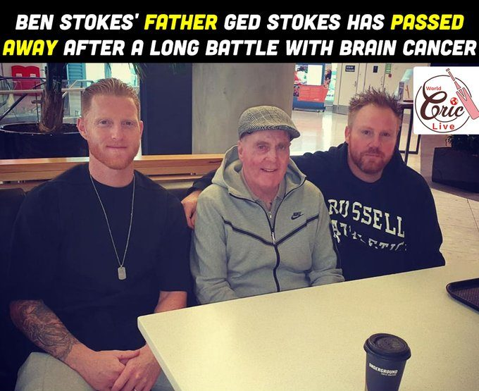 Ben Stokes' dad passes on after malignant development combat