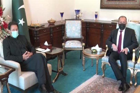 Russian Foreign Minister meets Prime Minister Pakistan