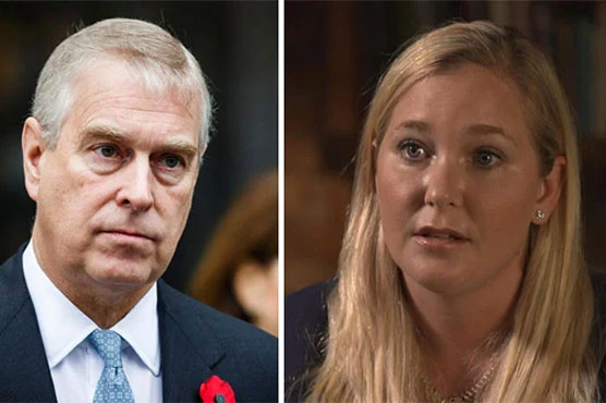 British Prince Andrew accused of raping American woman